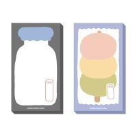 미니 메모지 -당고, 우유