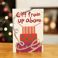 하늘의 선물 (크리스마스카드)