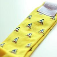 EMS-BOAT(Yellow) (디자이너SOCKS/양말)
