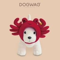 [도그웨그 DOGWAG] 강아지 꽃게모자, 꽃게냥 모자