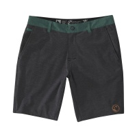 [히피트리] Basin Hybrid Short - Black