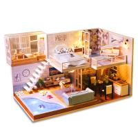 [adico]DIY 미니어처 하우스 - 풀빌라 하우스