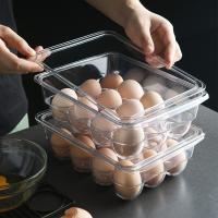 냉장고 계란 안전 보관 수납 투명 트레이