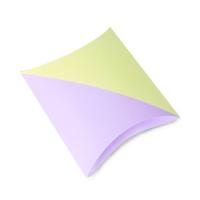 [인디고샵] 산뜻한 배색 컬러 필로우 상자 (2개)