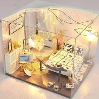 [adico]DIY 미니어처 하우스 - 돌핀 하우스