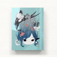 인어공주와 만난 토끼와 거북이 아크릴 일러스트 그림액자byhaya(270761)