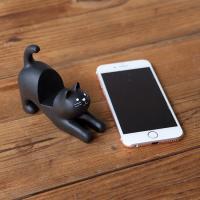 데꼴 고양이 끙차 휴대폰 받침대
