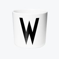 디자인레터스 멜라민 컵 W