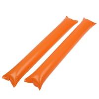 응원용 팡팡막대풍선-오렌지(100쌍)