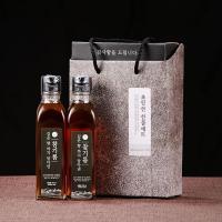 [우리농산] 국내산 참기름180ml x 2병 감사선물세트