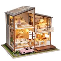 [adico]DIY 미니어처 풀하우스 - 드림 하우스
