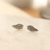 Silver Angel earring