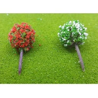 모형 꽃나무(3cm-5P) 2종