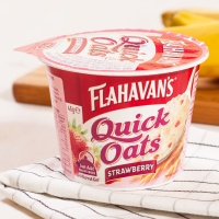 플라하반 퀵오트 컵 : 딸기 46g