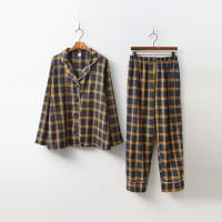 Momo Check Pajamas Set