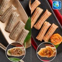 [아하식품] 명품마늘떡갈비만두 + 김치만두 (총 2팩)