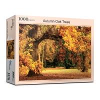 오크나무의 화려한 가을 단풍 (1000피스/PL1376)