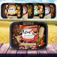 건강 도시락 먹고빼락 한끼 영양만점 5종 5팩 세트 W1B752C