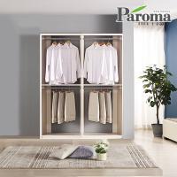 파로마 라라 드레스룸 일자형 2칸B형 (1600x400)