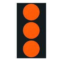 폼텍 마이스티커 도트 03 오렌지 레드 34mm [10시트]
