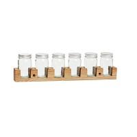 [Hubsch] Wallhanging spice jars 386005 보관용기세트