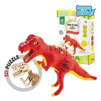 해피플레이 로버드 공룡클레이장난감 티라노사우루스