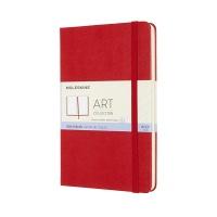 몰스킨 아트컬렉션-스케치북/스칼렛 레드 하드 M