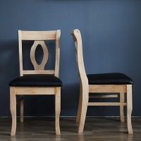 [베스트리빙]나폴레옹 내츄럴 의자 1+1
