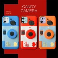 아이폰11 PRO SE2 XR 8 카메라 그립톡 실리콘 케이스