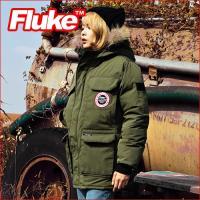 [플루크 패딩] 익스페디션 몬테로사 리얼라쿤 야상 패딩 점퍼 카키 FPJ1505-KHAKI (FP1030) FLUKE 15FW