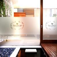 창문시트지 유리시트지 / 컷팅 S-A 제인심플라인01세로형