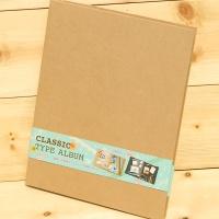 [Nakabayashi] 데코스티커로 꾸미고 바로 필기가 가능한-일본 나카바야시 A4 Classic 앨범 A4-161-KR HF424