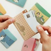 자문자답 일상 카드포켓 (교통카드지갑)