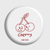 [어프어프] 손거울 Twin cherries-white