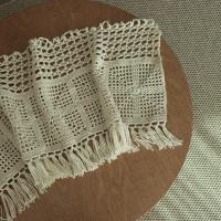 빈티지 바란스 커튼 - 코바늘 뜨개질 키트
