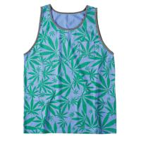 [EMERICA] KUSH PREMIUM TANK TOP (Pacific Blue)