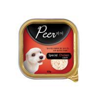 Peer(피어 사각캔)-순 닭고기 1BOX/24ea