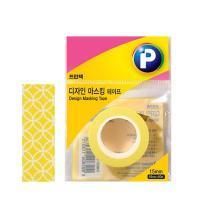 [프린텍] DM01-1510_디자인마스킹 테이프/나팔꽃/15mmx10m