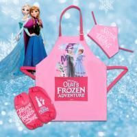 디즈니 어린이 겨울왕국 방수 앞치마세트 FREE