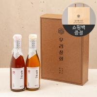 [우리상회]국내산 참기름300ml+들기름300ml 선물세트