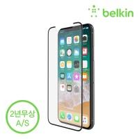벨킨 아이폰XS, X용 템퍼드 강화유리필름 F8W867zz