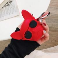 에어팟 프로 3세대 강아지 실리콘 케이스_레드/PRO224