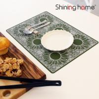 해바라기 실리콘 식탁매트 1P