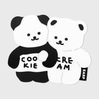 Cookie cream-black/white(마우스패드)