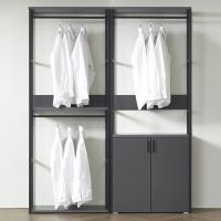 즐거운가구 착한가격 드레스룸 수납 세트 1600