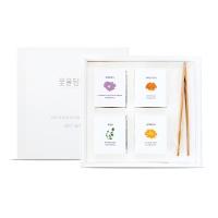 집들이 선물 미니꽃차4종 선물세트+쇼핑백