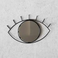 [도이] 싸이클롭스 벽걸이 거울 블랙 미디움