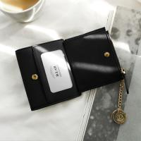 D.LAB Coin name card wallet  - Black