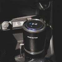 핫버튼코리아 H9-X1 차량용 공기 청정기 자동차 미세 먼지 음이온 헤파 필터 필터식 시가잭 차안 정화기