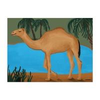 [카멜앤오아시스] Camel&Oasis 낙타 오아시스 포스터